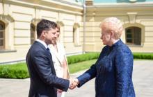 После инаугурации Грибаускайте дала важный совет Владимиру Зеленскому: известны подробности