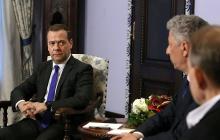 Соучастники убийств украинцев Медведчук и Бойко встретились с организатором оккупации Украины, Грузии и Молдовы