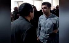 """В Литве российских пропагандистов выбросили на улицу под крики """"Слава Украине!"""" - видео"""