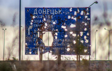 Под Донецком разгорелся кровопролитный бой - оккупанты обрушили артиллерию на ВСУ и зацепили гражданских