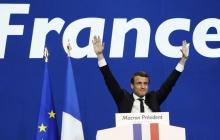 """Макрон о триумфе на выборах президента: """"Мы с вами на пороге новой истории Франции, для всех нас началась очень яркая глава жизни"""""""