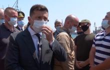 Визит Зеленского в Одессу: появилось видео, как президента встретили одесситы