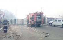 Пожар в Станице Луганской: горит целая улица, начали детонировать снаряды - кадры
