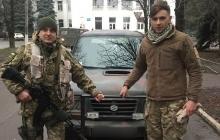Украинские воины станут еще мобильнее: семинаристы из Тернополя передали в зону АТО внедорожник Suzuki. Кадры