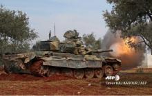 В Сирии повстанцы захватили российский танк Т-90А и атаковали армию Асада: фото