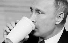 Почему Путин боится есть и пить из общей посуды: раскрыта тайна загадочной белой кружки