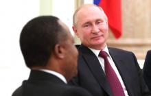 Встреча Путина с президентом Конго взорвала соцсети: заявление в Кремле вызвало ажиотаж