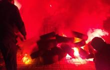 Украина против капитуляции: протестующие начинают запасаться шинами