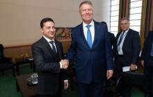 Зеленский встретился с президентом Румынии Клаусом Йоханнисом: о чем говорили главы двух государств