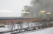Россию потряс второй сокрушительный пожар за сутки: горит и обвалилось здание типографии, есть погибшие - кадры