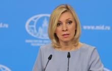 """Захарова сказала, кого Зеленский """"должен"""" пустить в Украину после Саакашвили: соцсети недоумевают"""