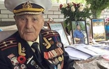 Порошенко наградил орденом 100-летнего ветерана Второй мировой Ивана Залужного