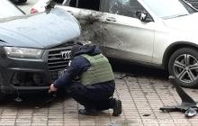 В Киеве прогремел взрыв: бросили гранату в автомобиль Турчинова – кадры с места происшествия
