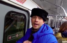 """""""Это угроза нашей безопасности"""": кадры, как пророссийского казака под крики выгоняют из метро Минска, - видео"""