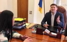 Как губернатор Одесской области Максим Куцый на неудобные вопросы отвечал, кадры