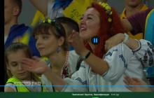 Под многоголосое пение национального гимна Украина обыгрывает Люксембург в непростом матче - видео