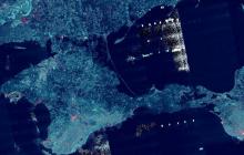 """В Азовском море зафиксирована мощная радиолокационная активность - """"аномалия"""" тянется вдоль Крыма"""