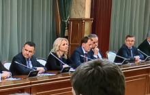 Реакция российских министров на слова Медведева об отставке попала на видео