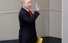 В России реклама поправок в Конституцию за обнуление сроков Путина вызвала громкий скандал, видео