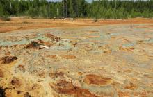 Кадры экологической катастрофы в России: вода из кислотных рек попадает прямо в дома людей