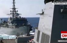 """Эсминец USS Farragut ВМФ США мог вступить в бой с кораблем РФ """"Иван Хурс"""": детали инцидента"""