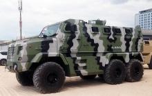 В Украине состоялась презентация бронеавтомобиля КрАЗ Feona