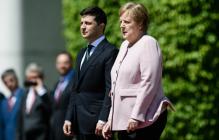 """Зеленский рассказал Меркель об """"инспекции"""" на Донбассе - Германия на стороне Украины"""