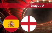 Лига наций УЕФА. Испания – Англия. Прямая онлайн-видеотрансляция матча - голы