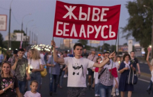 В Гродно силовики Лукашенко тащили в автобус беременную женщину: опубликованы кадры