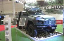 """ВСУ усиливают вооружение бронеавтомобилями """"Новатор"""" и """"Стугна-П"""""""