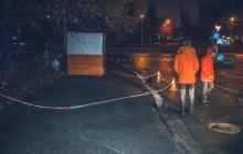 В Киеве открыли стрельбу по студентам: есть тяжелораненый - в СМИ попали первые кадры с места ЧП