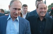Путин собирается дать Берлускони российский паспорт и пристроить в Крыму