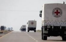 200 тонн гуманитарной помощи от Красного Креста отправилось на оккупированный Донбасс