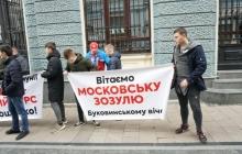 Приезд Тимошенко в Черновцы вылился в потасовки и задержания активистов – кадры