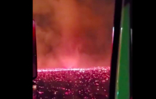 Огненный смерч под вой сирен: в охваченной пожарами Калифорнии на видео попало редкое явление