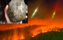 Инопланетяне с Нибиру начали на Земле огненный армагеддон, запустив к Земле смертельные астероиды