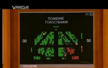 Стало известно, какие народные депутаты не поддержали закон про украинский язык