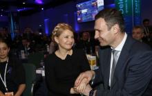 Объединение Тимошенко и Кличко: первые детали партийного союза