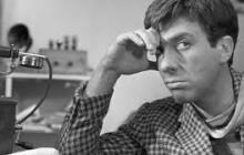 Неповторимый Остап Бендер, актер Сергей Юрский, госпитализирован в тяжелейшем состоянии