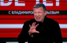 """""""Не захотят они быть в этом безобразии"""", - Соловьев устроил """"раздел"""" Украины на программе"""