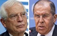 Верховный представитель ЕС Боррель напомнил Лаврову, что грядут новые санкции