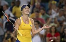 Первая ракетка Украины покорила американский корт: Свитолина легко и уверенно расправилась с японкой на турнире WTA - кадры