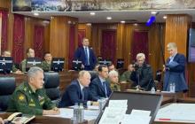 """Пескову пришлось держать микрофон на встрече Путина и Асада в Дамаске: """"Не пустили никого, адски боятся"""""""