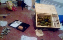 Аброськин: полиция и СБУ нашли в Курахово двух наркоманов с оружием: выявлены ружье, автомат, гранаты и запалы