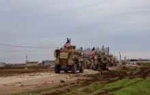 Конфликт в Сирии между Россией и США: кадры, как военные РФ, спрятавшись, комментируют бой американцев с боевиками Асада