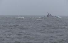 Россияне не решились приблизиться к украинским морякам: военные катера ВМСУ успешно отработали стрельбы - кадры