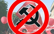 """Думали, что не заметят: """"Правый сектор"""" сорвал в Кривом Роге шабаш запрещенной Компартии - кадры"""