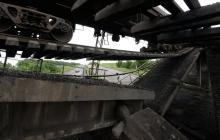 В Донецкой области подорван участок железной дороги на перегоне Квашино-Амвросиевка