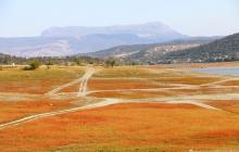 Новые кадры из Крыма: во что превратилось Симферопольское водохранилище