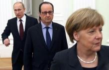 Меркель и Олланд не простили Путину обман: в ЕС сделали важное заявление по санкцииям